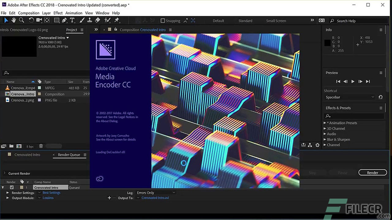 Adobe After Effects CC 2019 v16 1 2 55 Free Download - FileCR