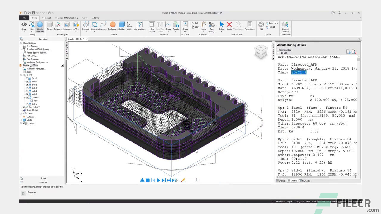 Autodesk FeatureCAM Ultimate 2020 Free Download