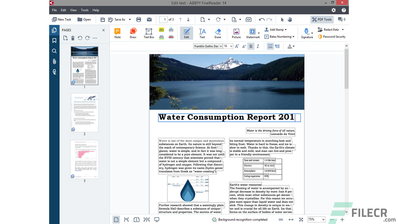 Scr3_ABBYY FineReader Professional_Free download