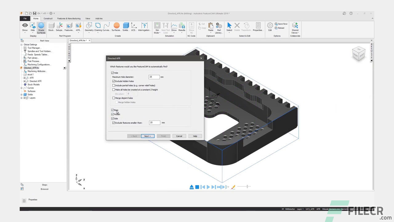 Autodesk FeatureCAM Ultimate 2020.3