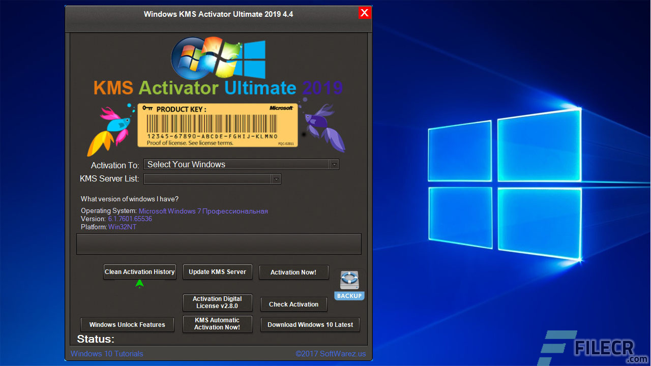 Windows KMS Activator Ultimate 2019 4 8 Free Download - FileCR