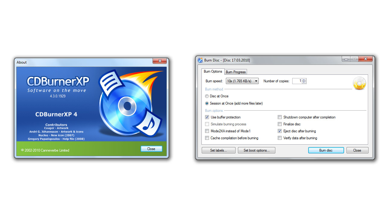 CDBurnerXP Latest Full Version Free Download - FileCR
