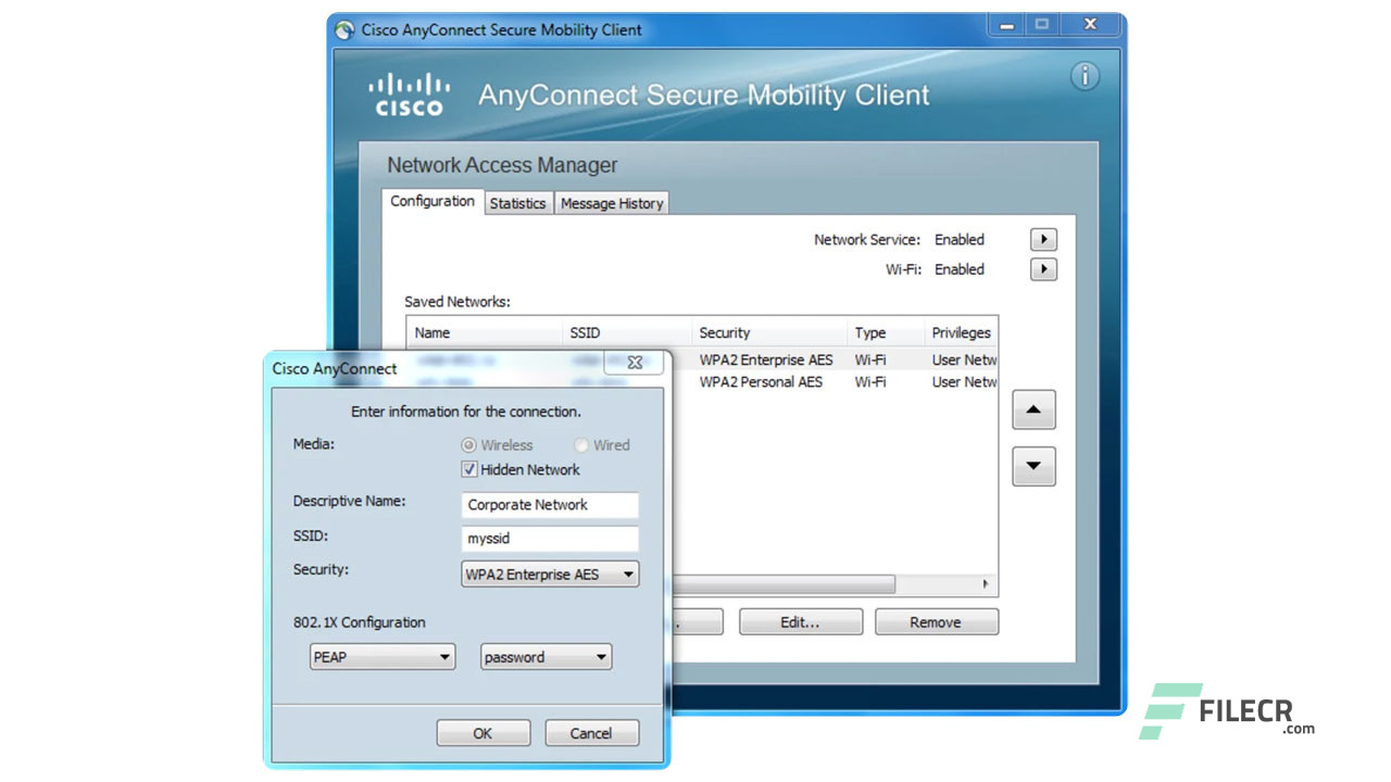 Cisco AnyConnect Secure Mobility Client 4 7 03052 - FileCR