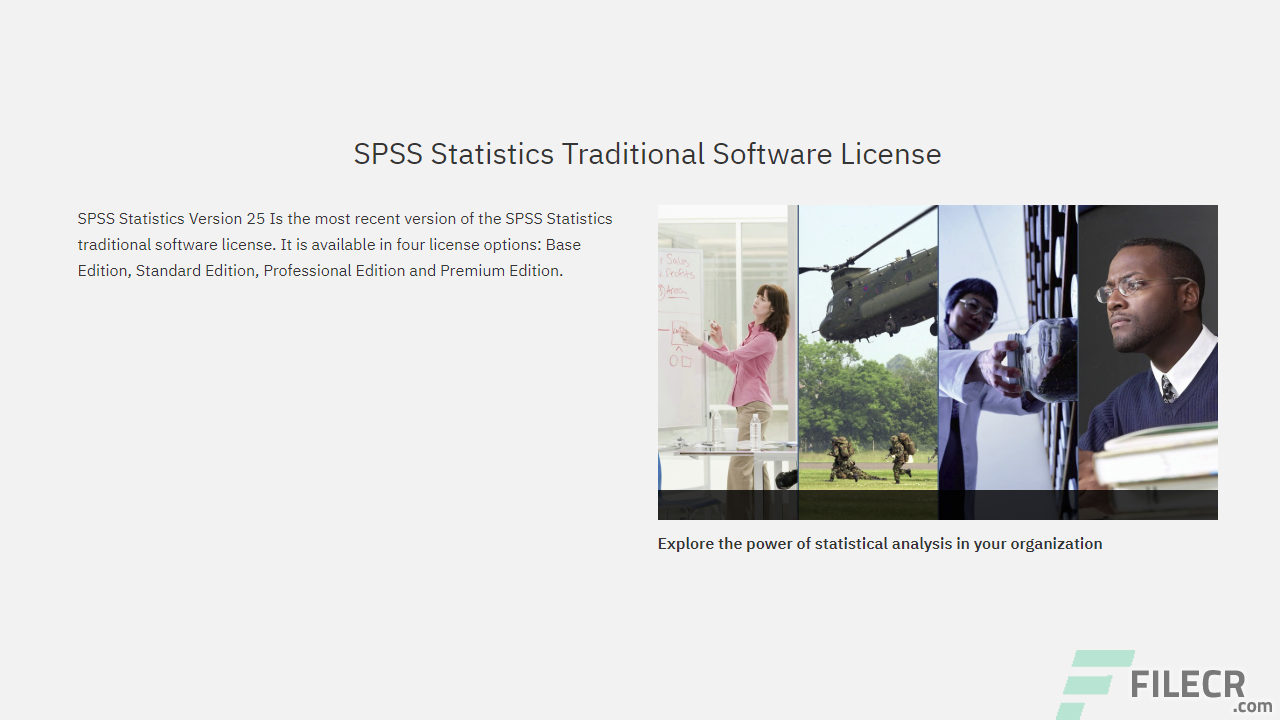 Technology Management Image: IBM SPSS Statistics 25 Full Version Free Download