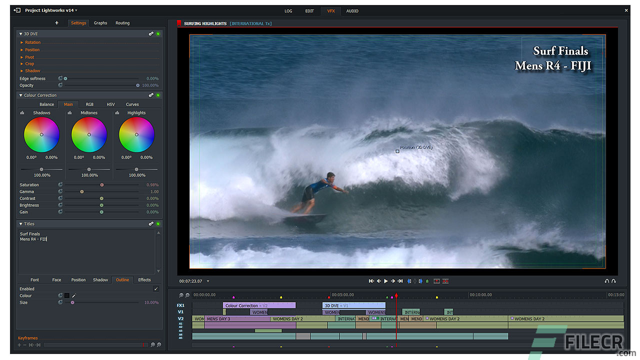 Lightworks Pro 14 Full Version Free Download - FileCR