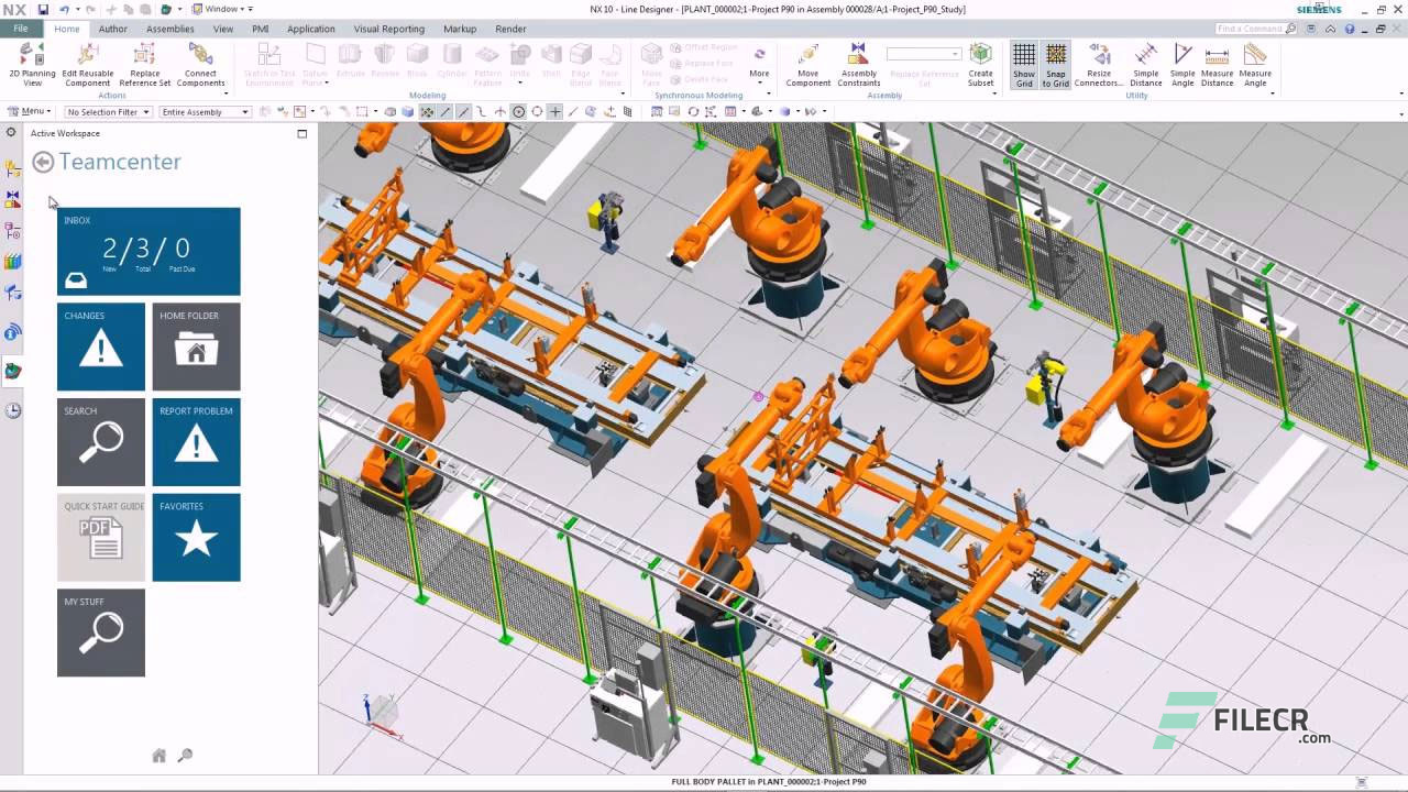 Siemens PLM NX 1876 Build 1702 Free Download - FileCR