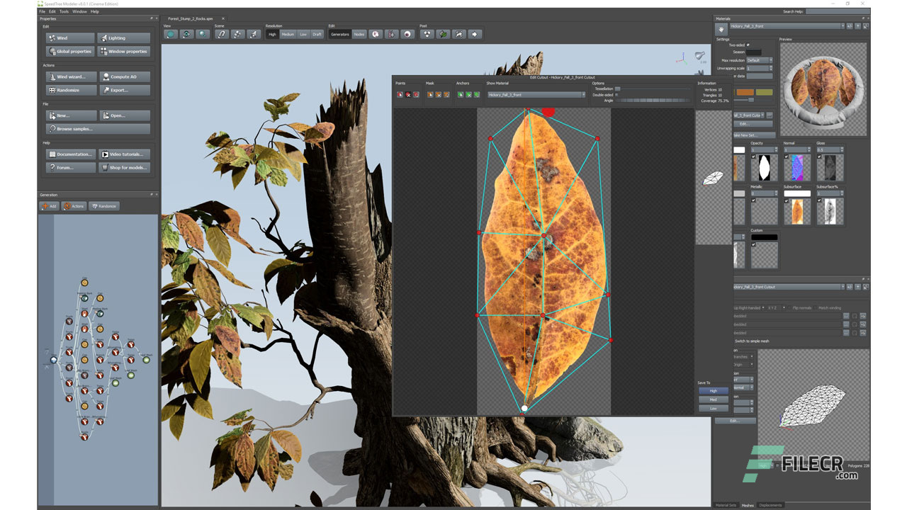Image result for SpeedTree Modeler 8.4.2 Cinema Edition x64
