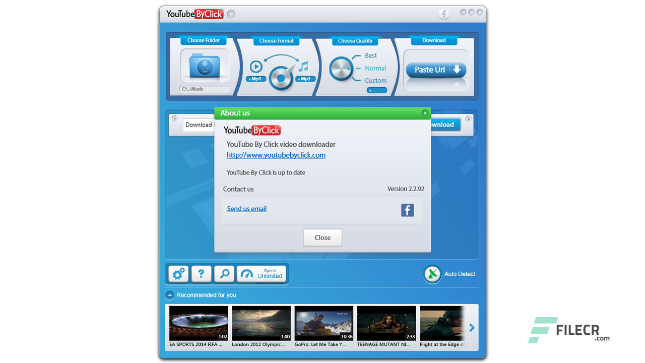 YouTube By Click 2 2 114 + Portable Free Download - FileCR