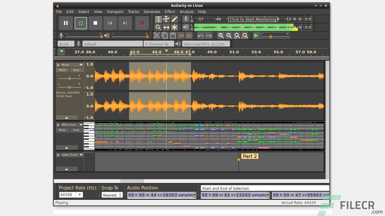 Audacity 2 3 2 Full Version + Portable Free Download - FileCR