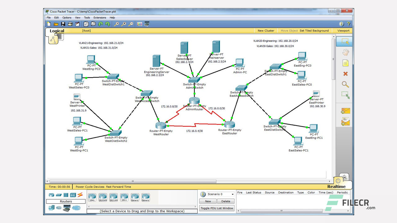 Cisco Packet Tracer 7 2 Full Version Free Download - FileCR