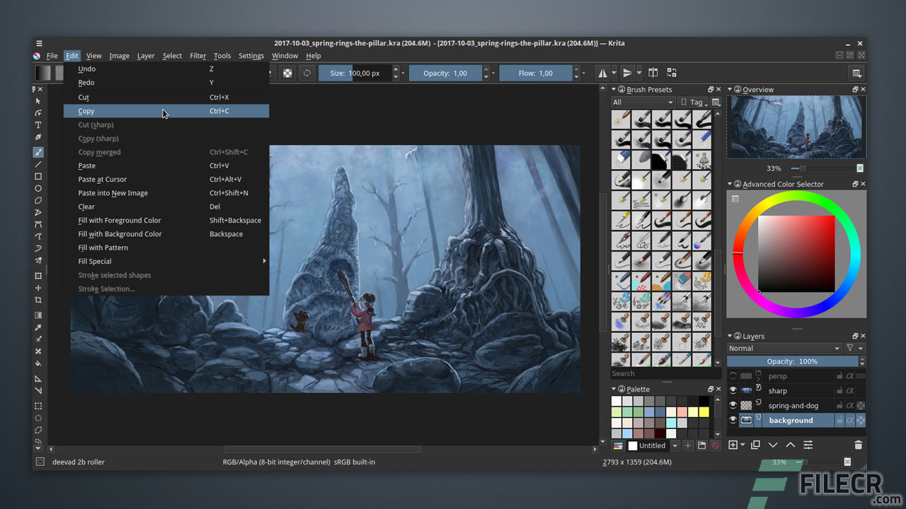 Krita Studio 4 2 4 Full Version Free Download - FileCR