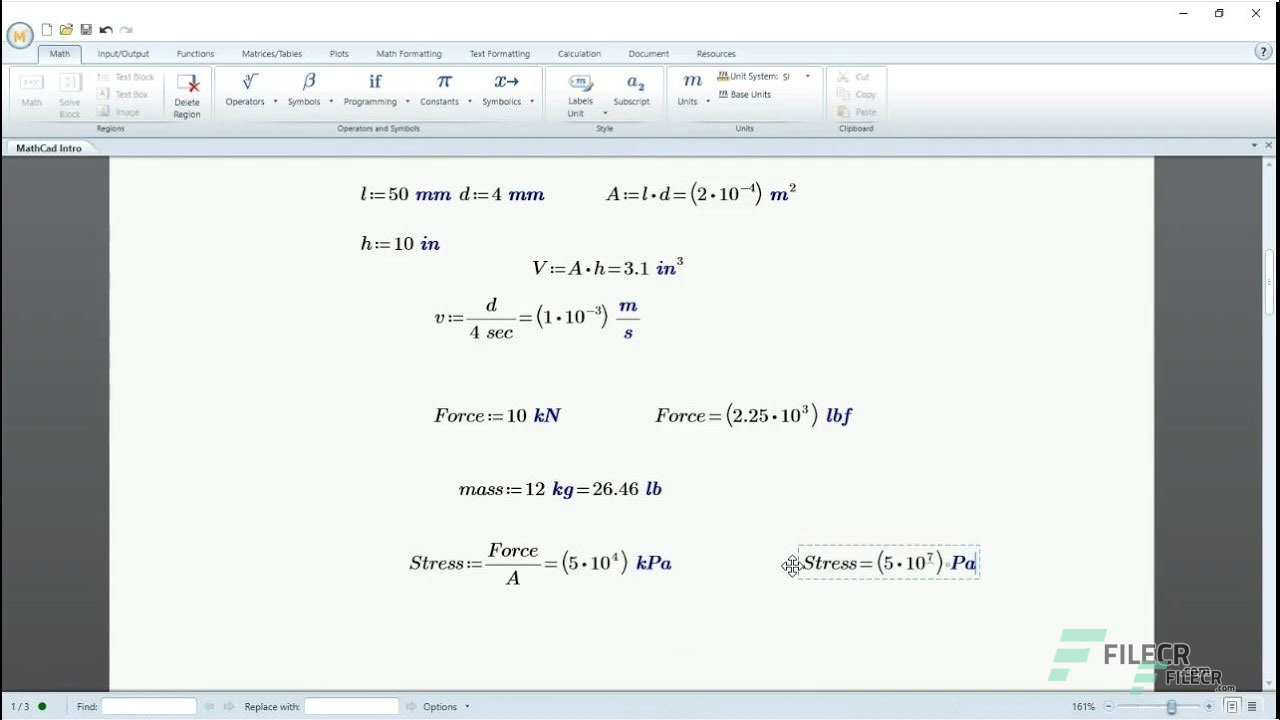 PTC Mathcad Prime 5 0 Full Version Free Download - FileCR