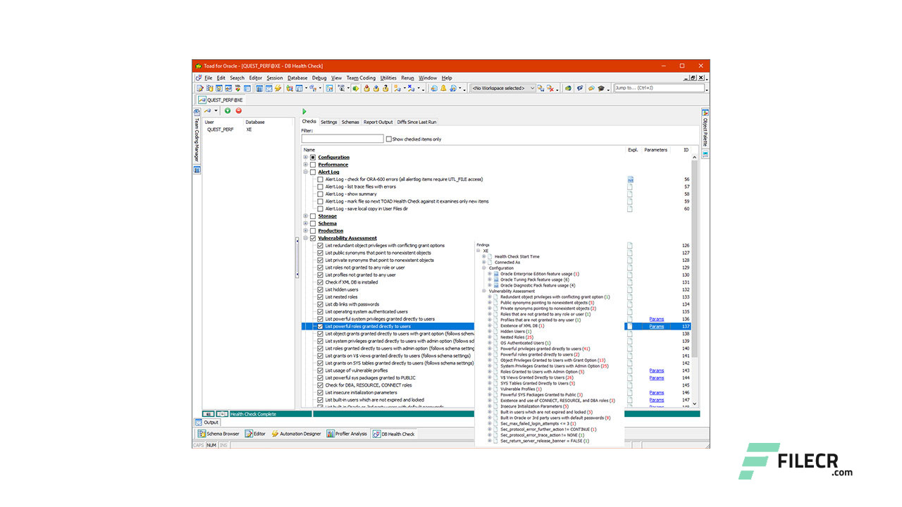 Toad for Oracle 13 1 1 5 Xpert Edition Free Download - FileCR