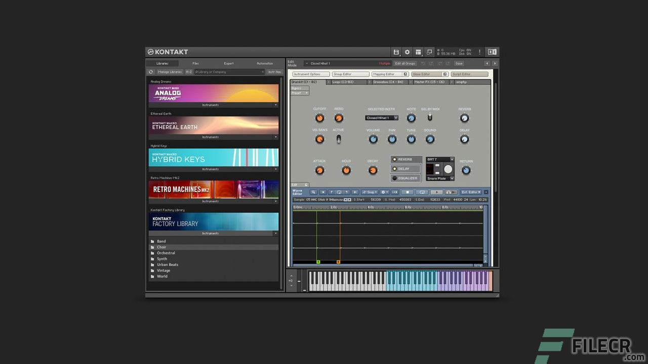 Native Instruments Kontakt 6 1 1 Free Download - FileCR