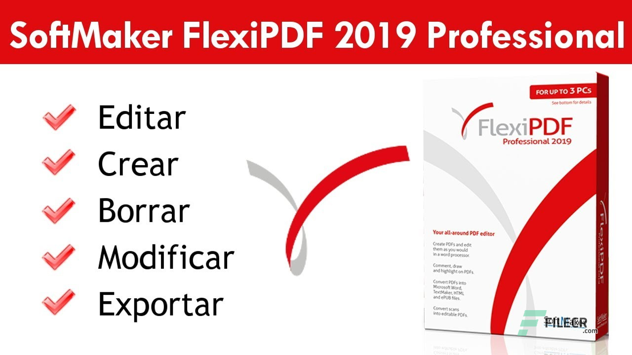 SoftMaker FlexiPDF 2019 Professional 2.0.5