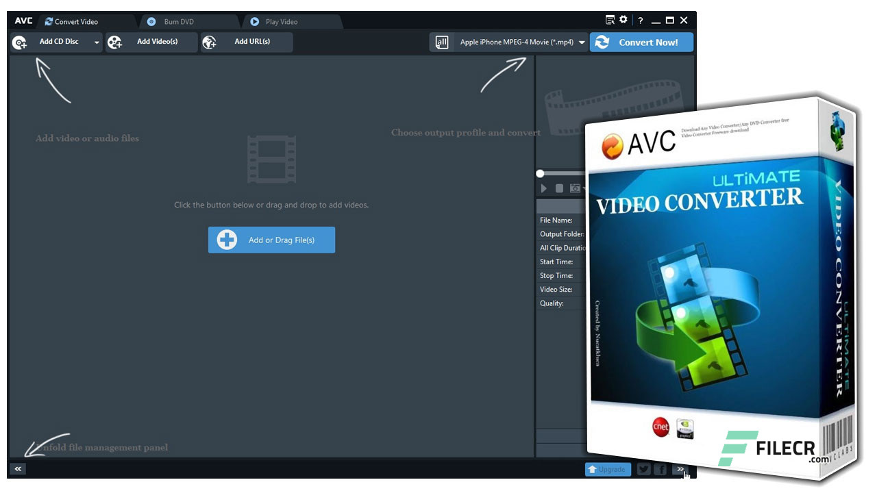 Any Video Converter 6.3.8 Ultimate / Professional