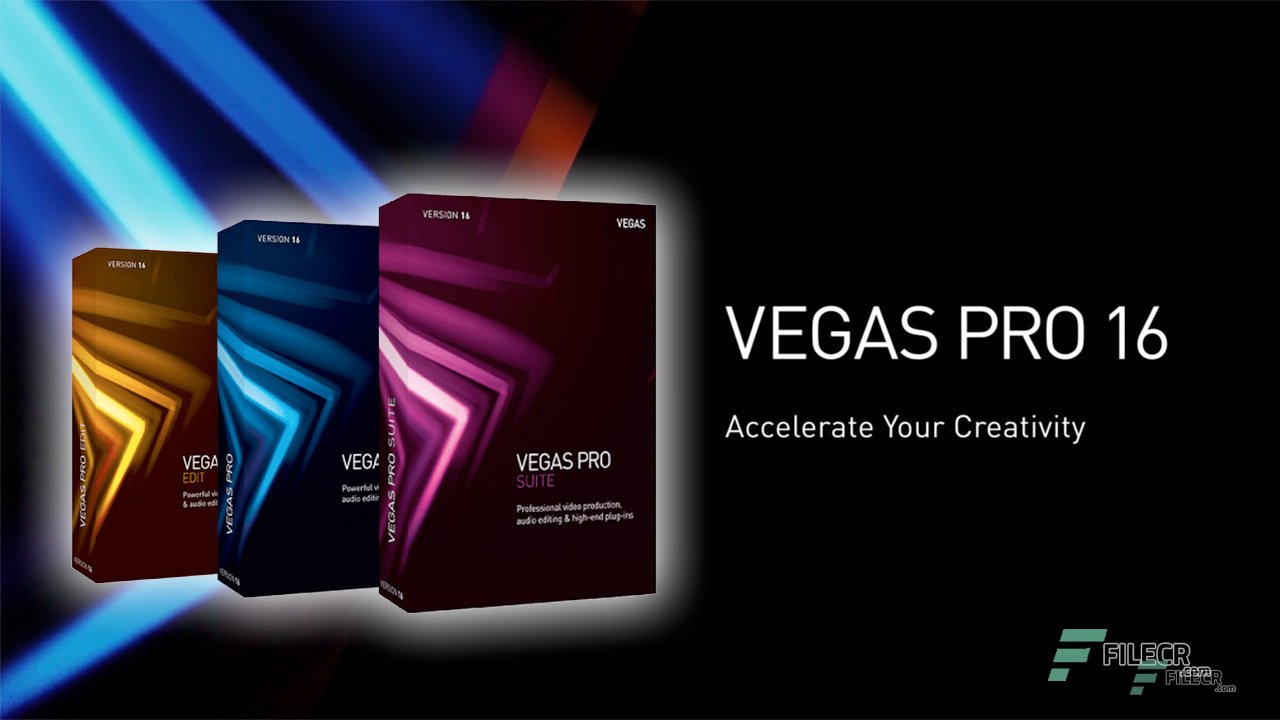 MAGIX Vegas Pro 16 Free Download