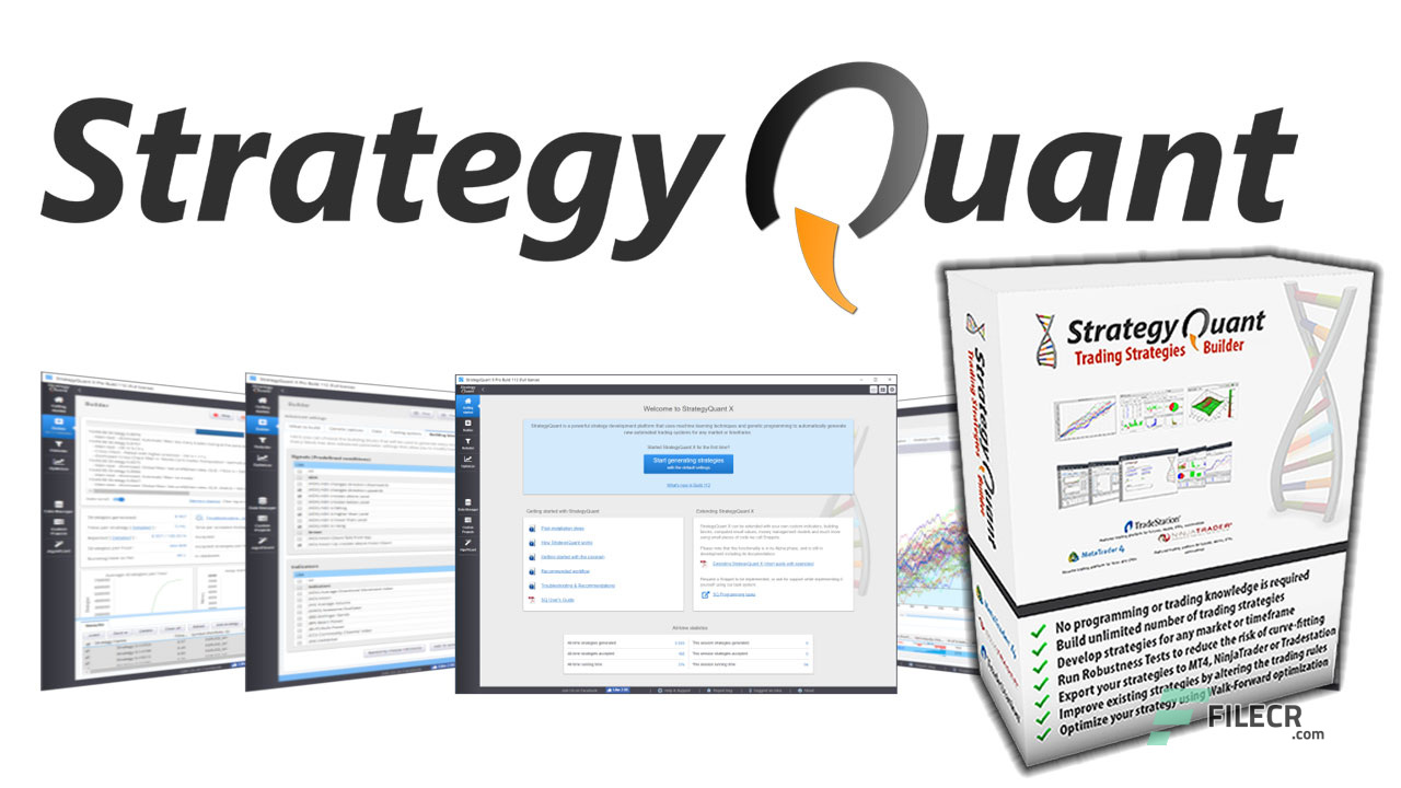 StrategyQuant X Pro - Latest Version Free Download - FileCR
