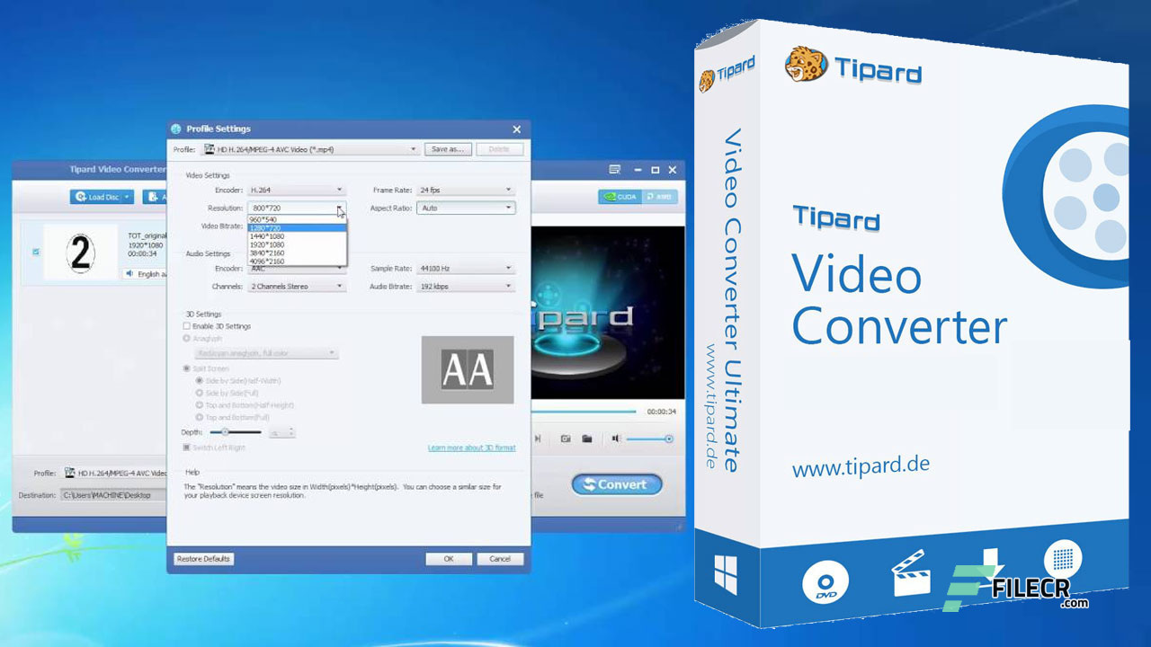 Tipard Video Converter Ultimate 9.2.56