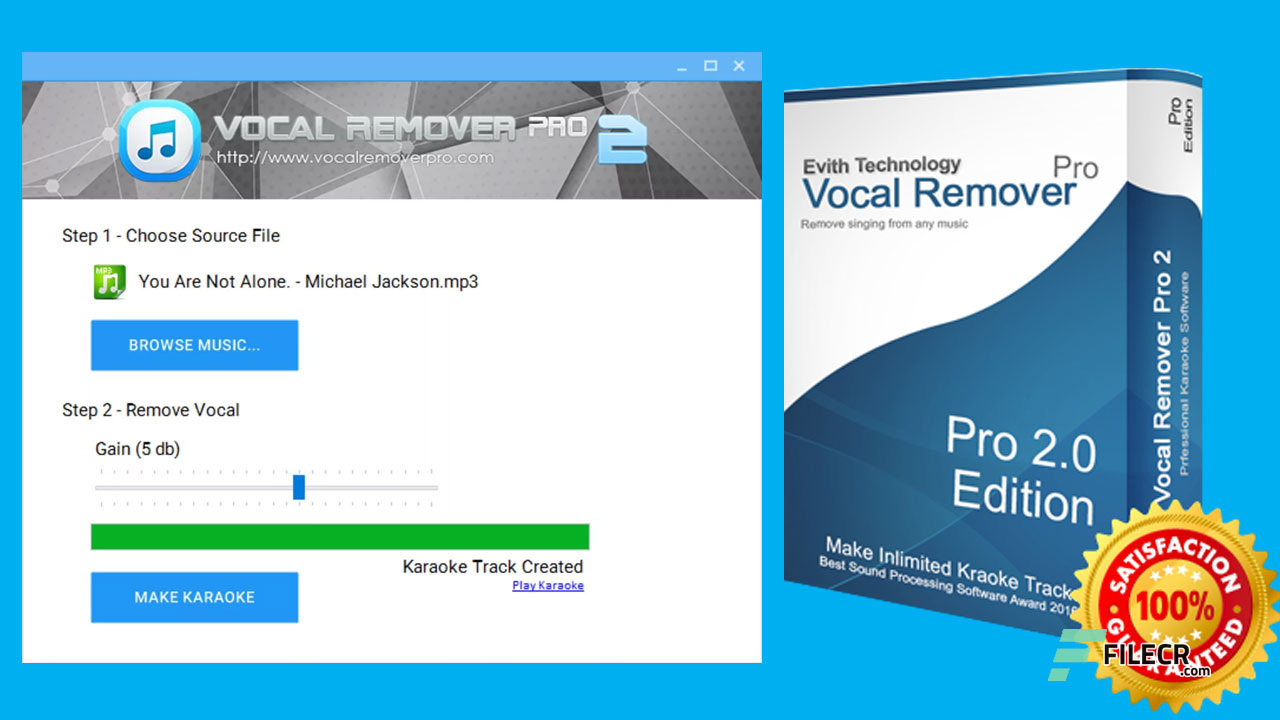 Best Vocal Remover