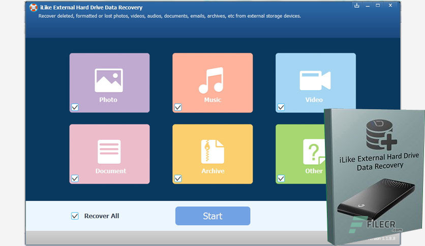 data recovery software for external hard drive free download