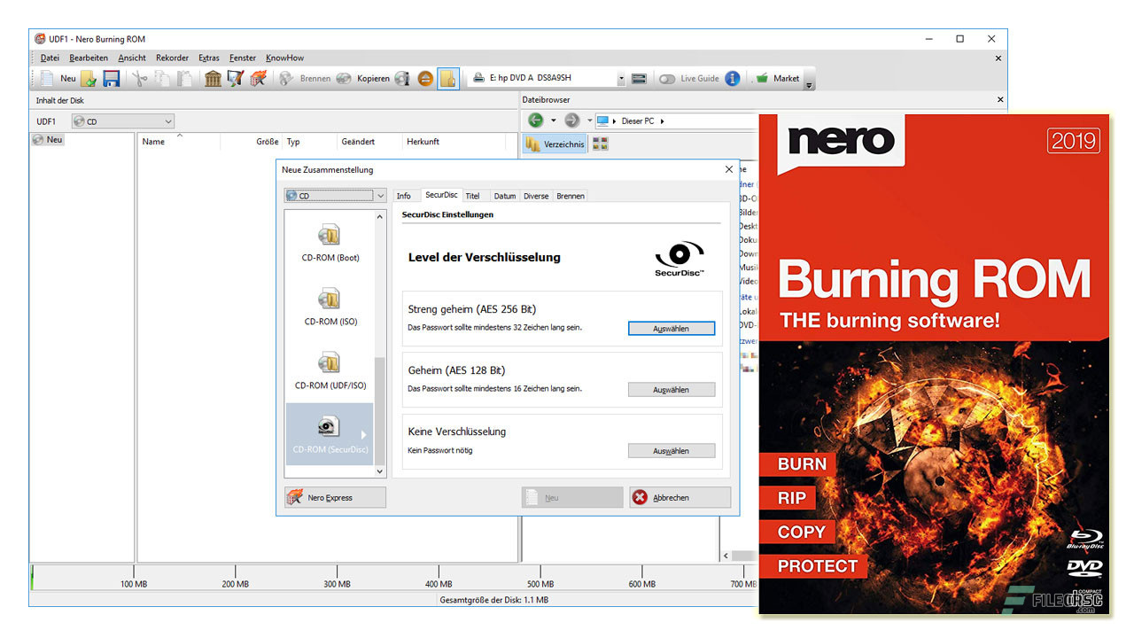 Nero Burning ROM 2019 v20 0 2014 Free Download - FileCR