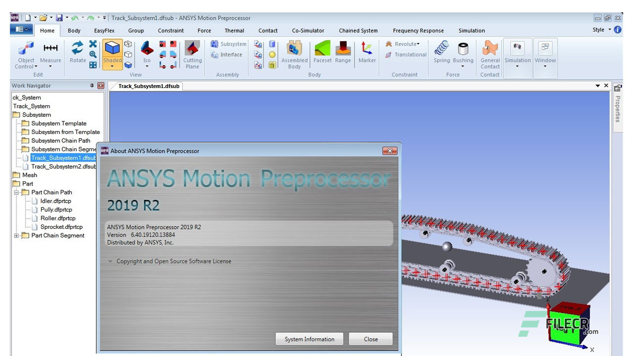 ANSYS Motion 2019 R2 Full Version Free Download - FileCR