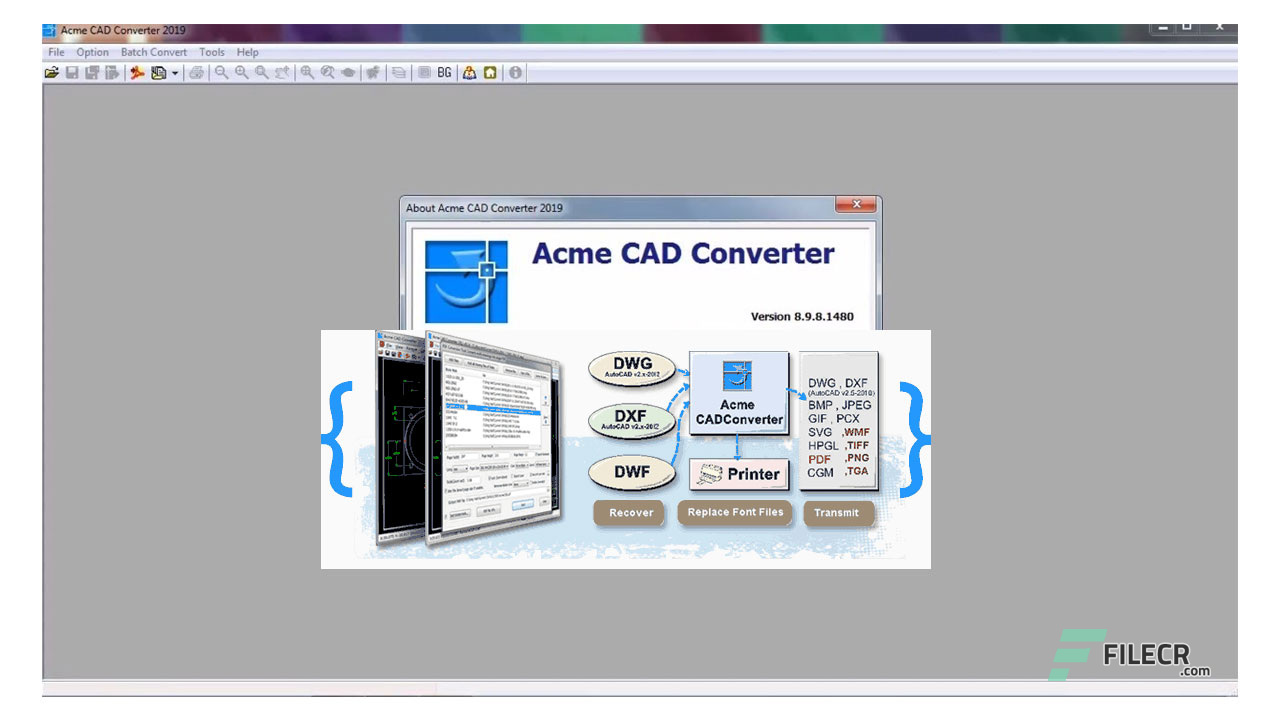 Acme CAD Converter 2019 8 9 8 1489 Free Download - FileCR