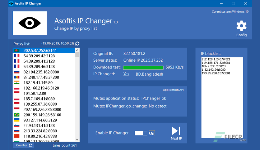 Asoftis IP Changer 1 3 Full Version Free Download - FileCR