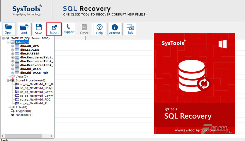 SysTools SQL Recovery 9 0 0 0 Full Version Free Download
