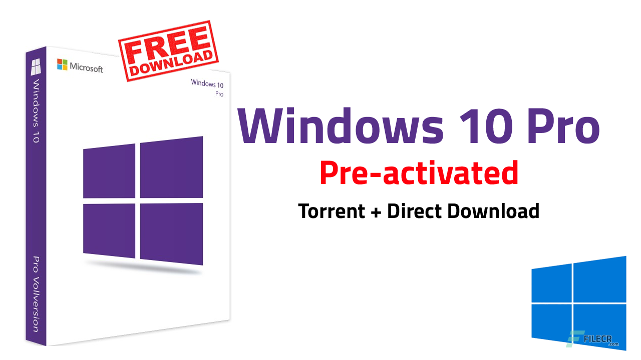 Windows 10 Pro v1903 10.0.18362.295 Pre-activated August 2019