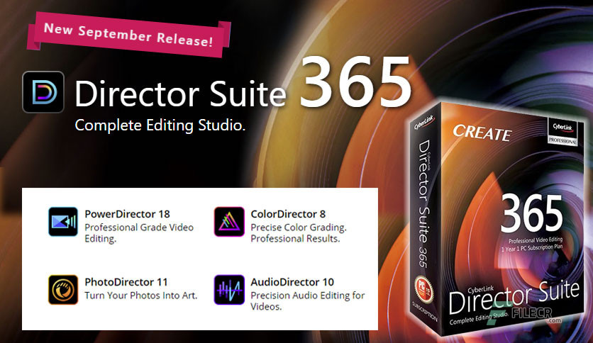 CyberLink Director Suite 365 v8.0 + Content Packs