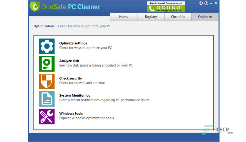 one safe pc cleaner