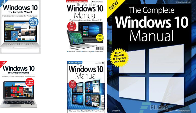 The Complete Windows 10 Manual -3rd Edition 2019