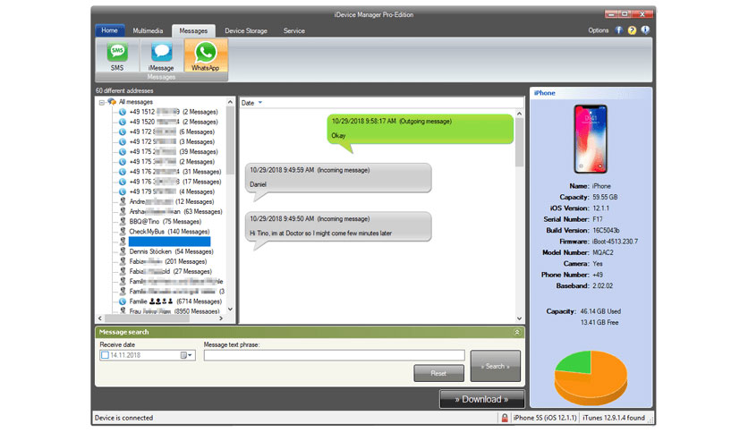 iDevice Manager Pro Edition 8 7 0 0 Free Download - FileCR