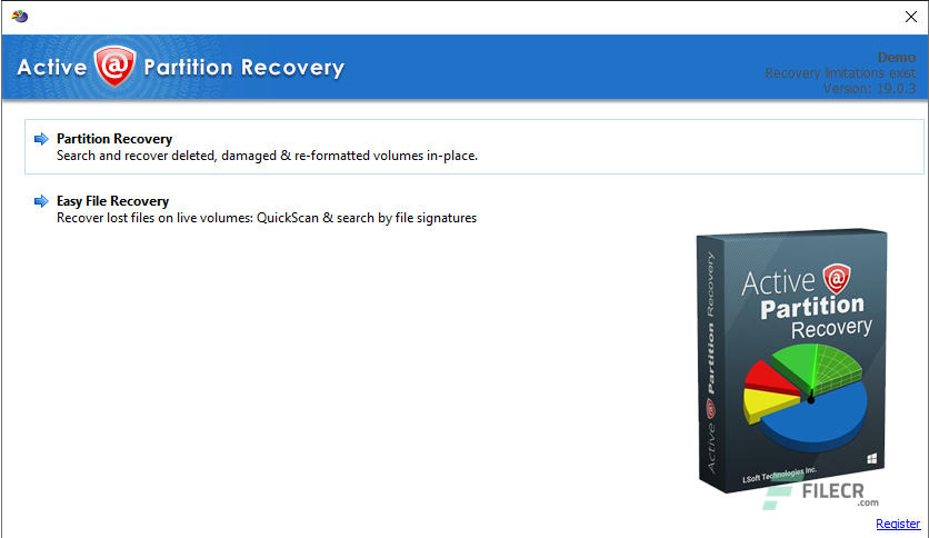 Active@ Partition Recovery Ultimate 19.0.3
