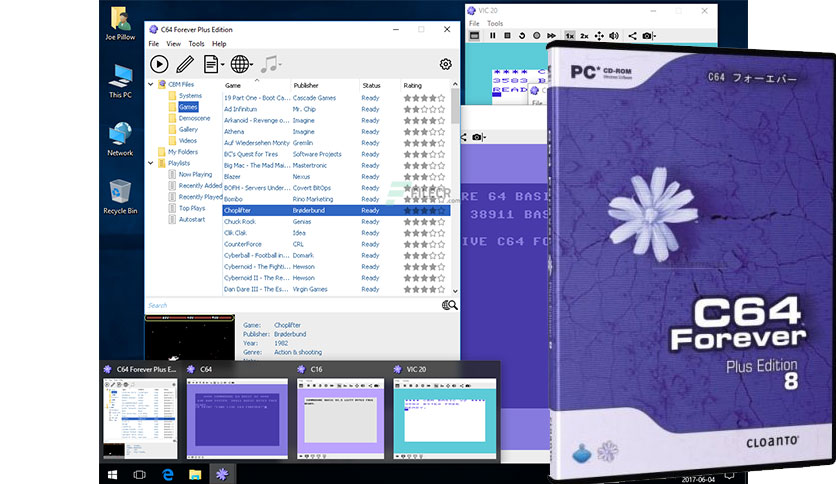 Cloanto C64 Forever 8.3.2.0 Plus Edition