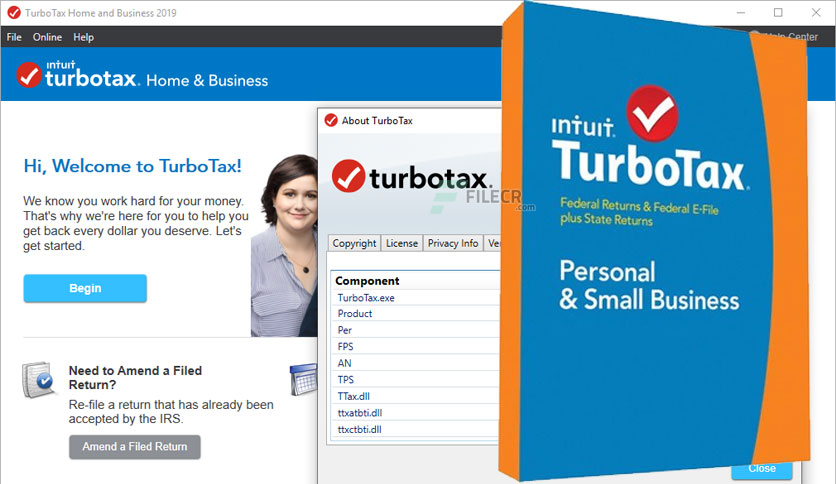 Intuit TurboTax 2019 All Editions v2019.41.13.203