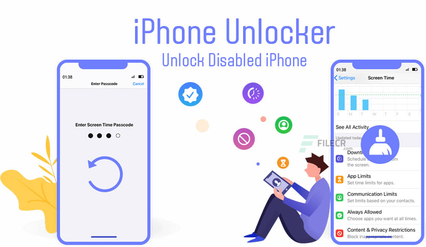 Aiseesoft iPhone Unlocker 1.0.22 Free Download - FileCR
