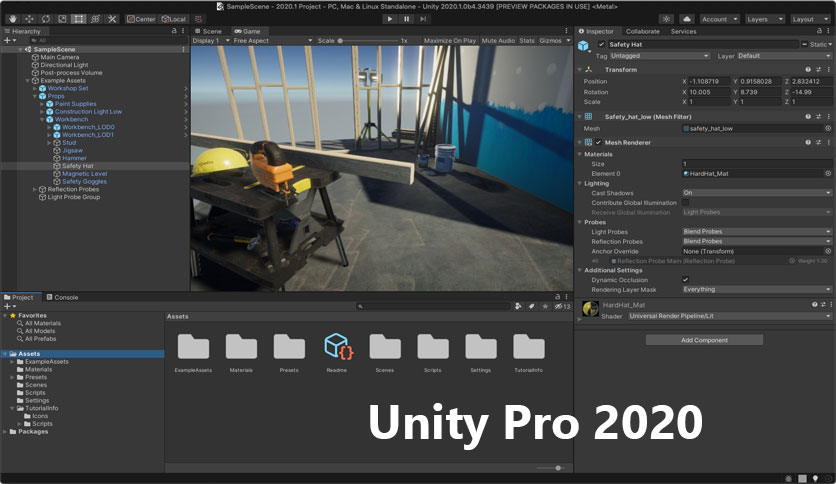 Unity-Pro-2020-Free-Download