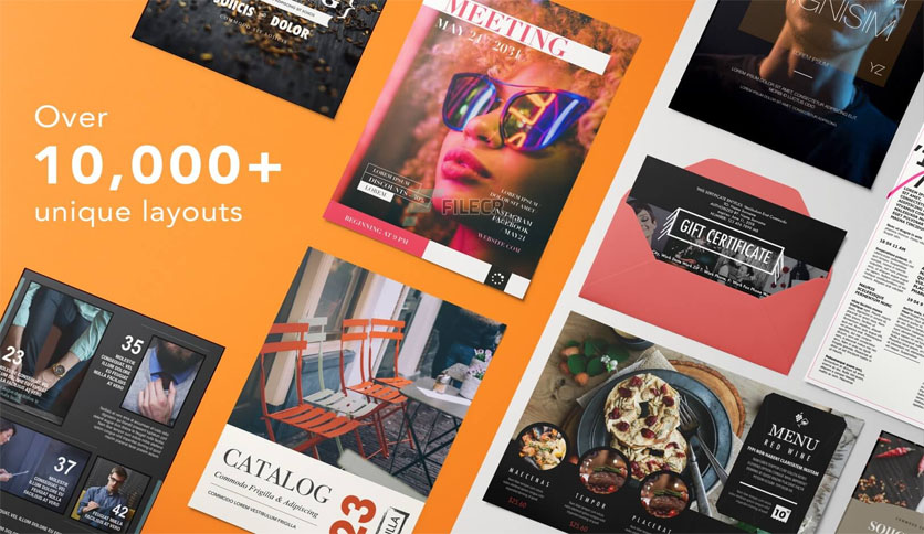 Templates for Pages – DesiGN 7.3